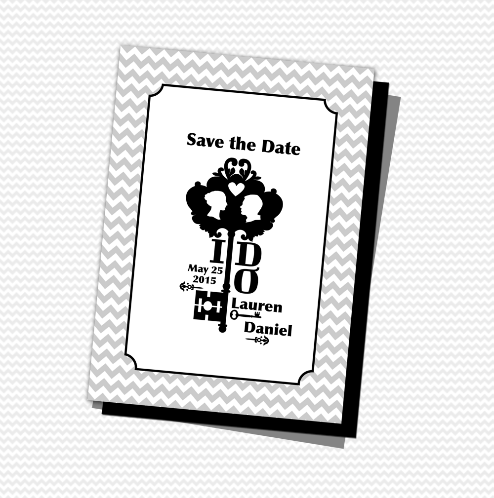 FREE PDF Download. Save The Date Printable Template With A