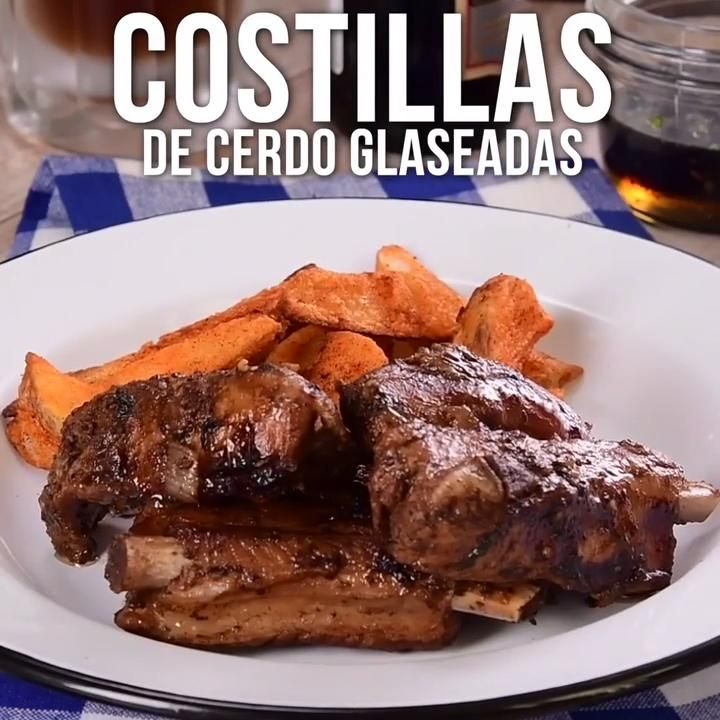 Costillas de Cerdo Glaseadas