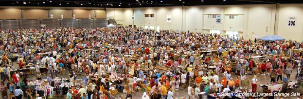 South Carolina's Largest Garage Sale coming Sept. 8, 2012. Vendor spaces are sold out!