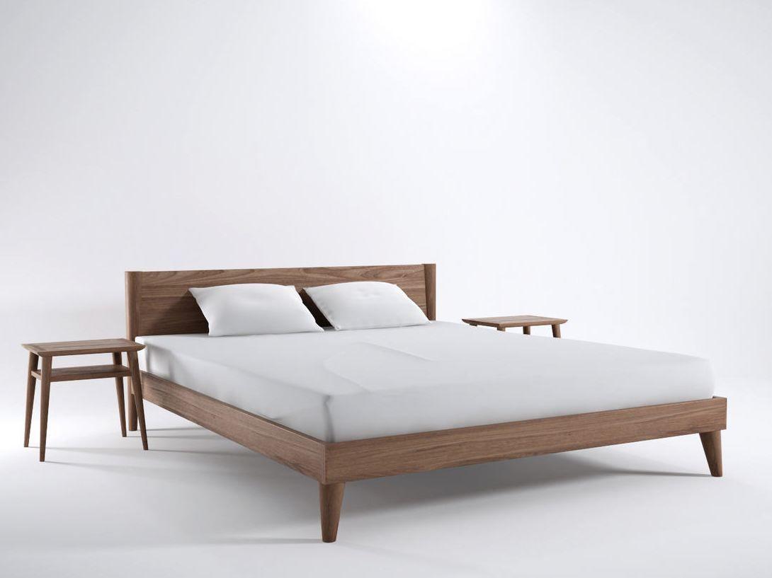 Wooden King Size Bed Vintage Collection By Karpenter Design