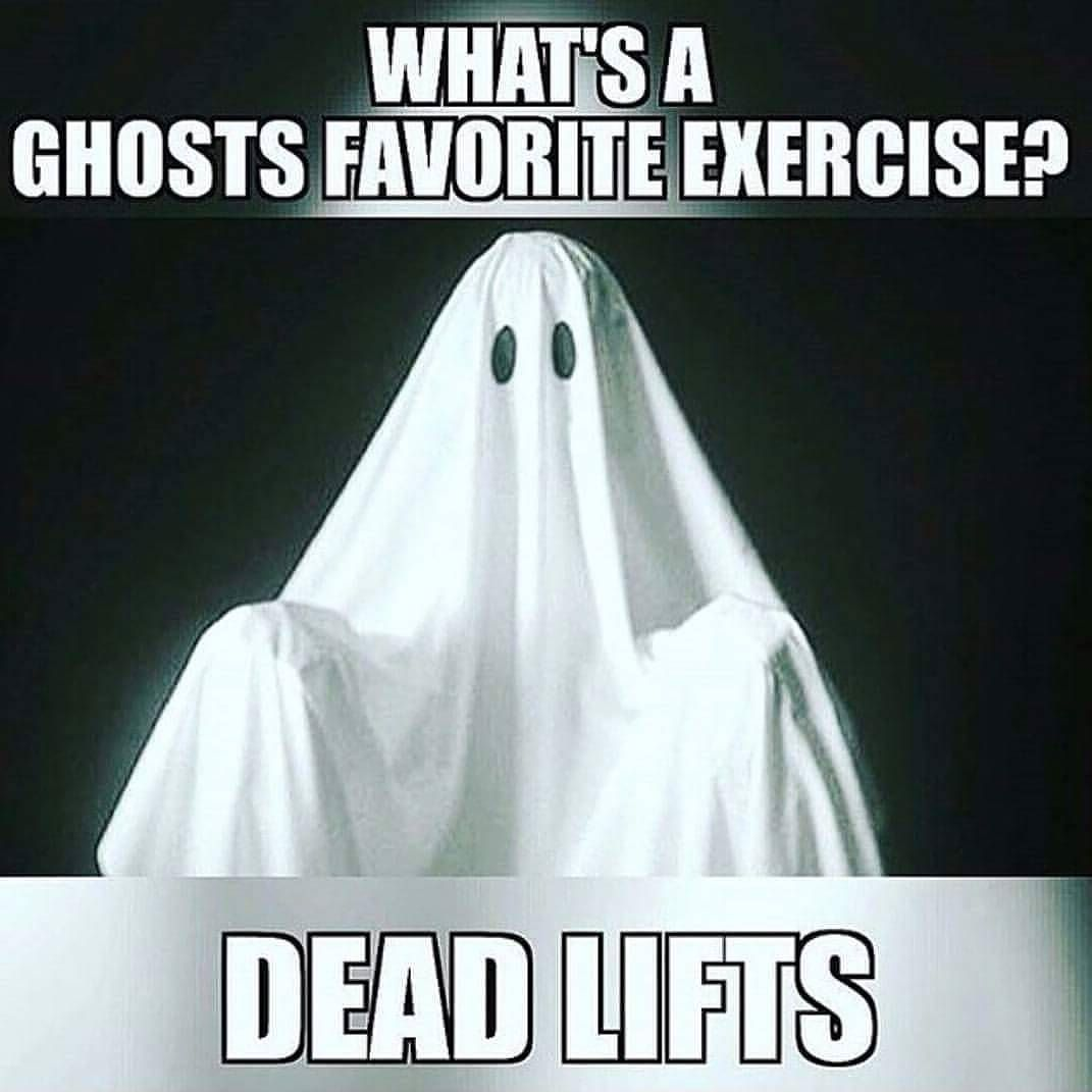 Happy Halloween Quotes Funny: Happy Halloween Everyone! #halloween #deadlift #fitness