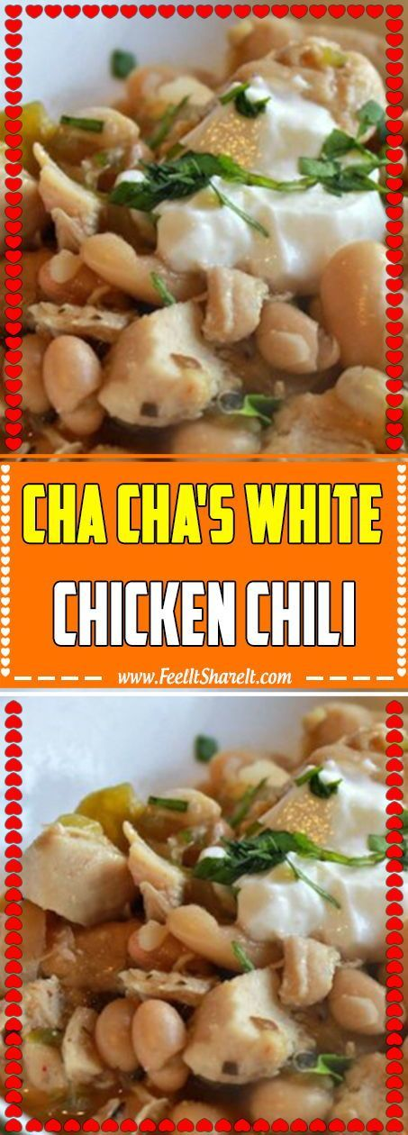 Chili au poulet blanc de Cha Cha Chili au poulet blanc de Cha Cha,