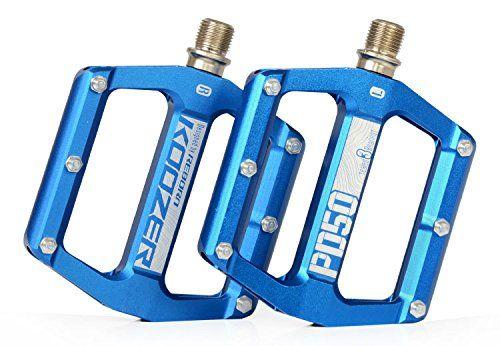 Koozer Pd50 3 Pelin Cnc Alluminum Mountain Bike Pedals Blue