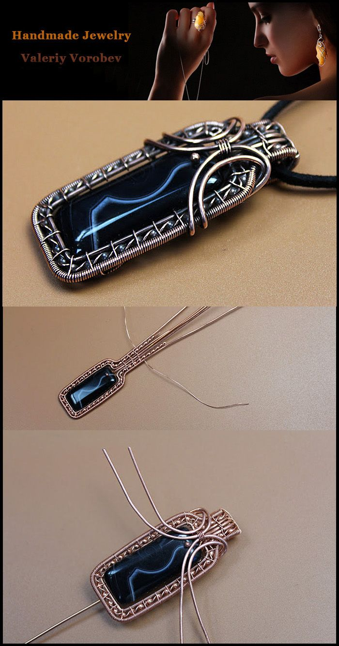 Wire Wrap Pendant. Wire Wrap tutorial.