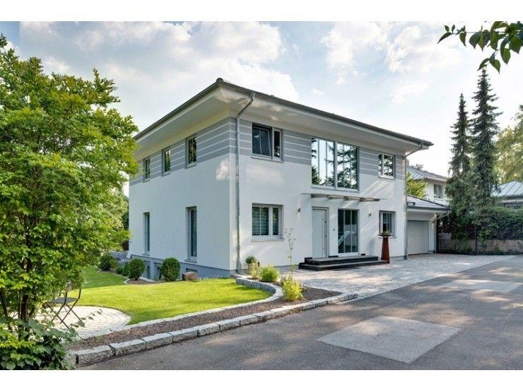 Walmdach 208 einfamilienhaus von luxhaus vertrieb gmbh for Einfamilienhaus modern walmdach