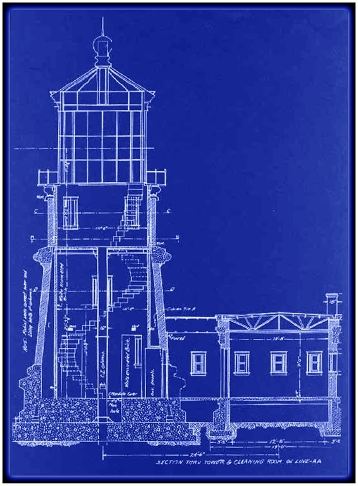 Split rock lighthouse blueprint ralph russell tinkham circa 1907 split rock lighthouse blueprint ralph russell tinkham circa 1907 blueprintschematicdrawing malvernweather