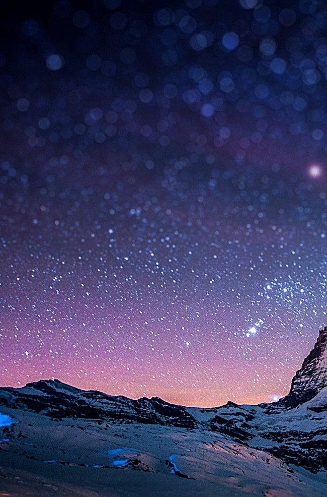 نجوم السماء الزرقاء الخلفية منظر الجبال ภาพพ นหล ง พ นหล ง การถ ายภาพ