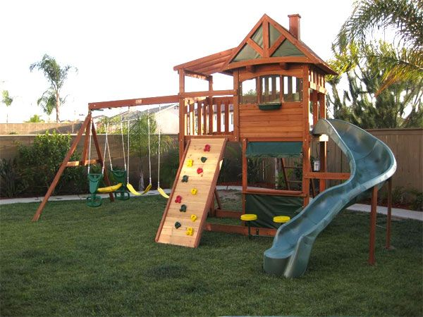 Pictures Of Swing Sets Backyard Swings Playground