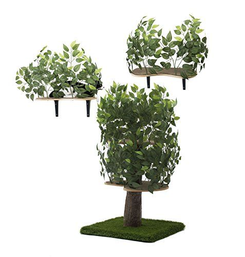 On2Pets Cat Condo Furniture BUNDLE DEAL, Tree House Tower for ...