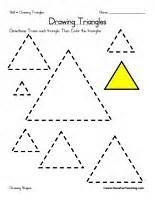 Triangle Worksheets for Preschool - Bing Images | School Stuff ...