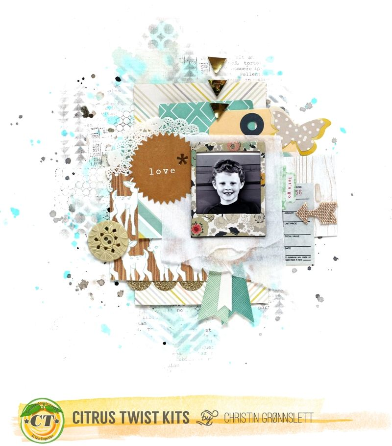 Christin aka Umenorskan scrapper: Love - CTK September Kit