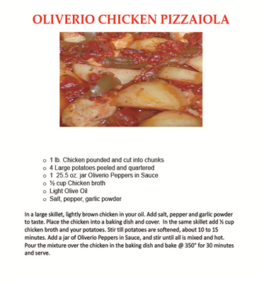 Oliverio Peppers Recipes Stuffed Peppers Recipes Cooking Recipes