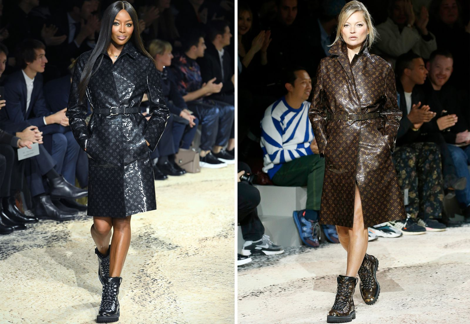 Looks - Models female at menswear shows video