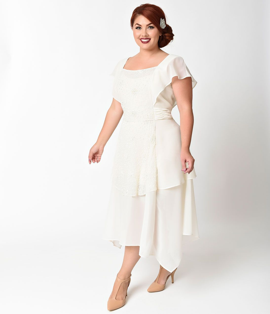 Plus Size Vintage Dresses 1920