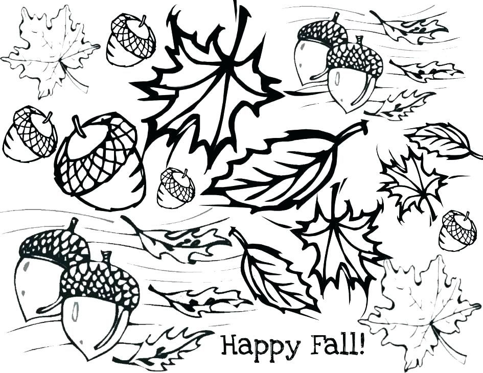 printable fall leaves shapes coloring pages tropical leaf