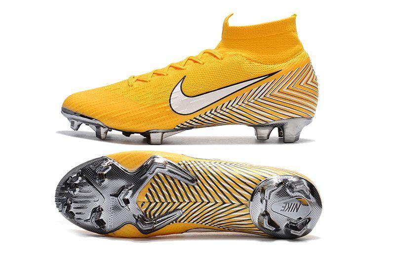 Novelista Volverse loco Fanático  Nike Mercurial Superfly VI Elite FG Botas de Futbol - Amarillo ...