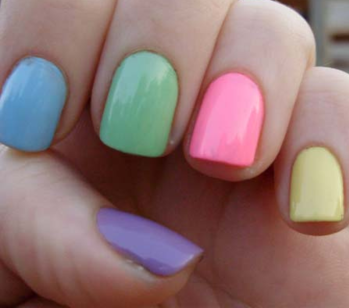 Easter nails cute random stuff pinterest too cute - What are the easter colors ...