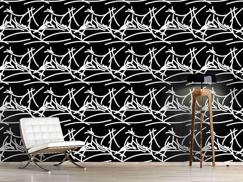 Design #Tapete Schwungvoll Und Abstrakt