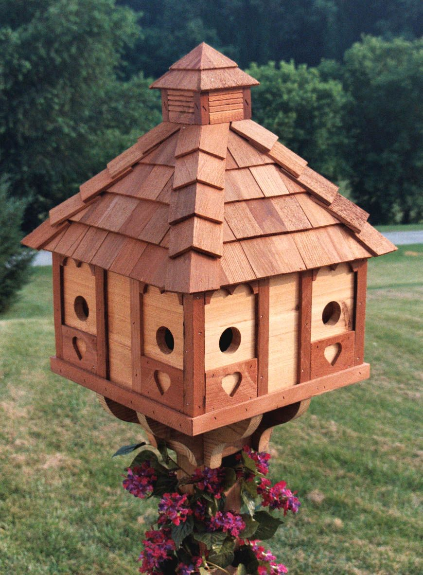 Pictures of Bird Houses Amish Delights
