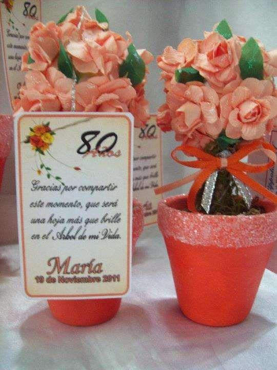 Souvenirs Arbolito De La Vida Ideal Para 50 Años De Mujer