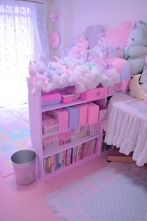 Sugarycutie From M A R S H M A L L O W S Blog Do Not Like Reblog If You Have A Dd Lg Blog Kawaii Room Pastel Room Cute Room Decor