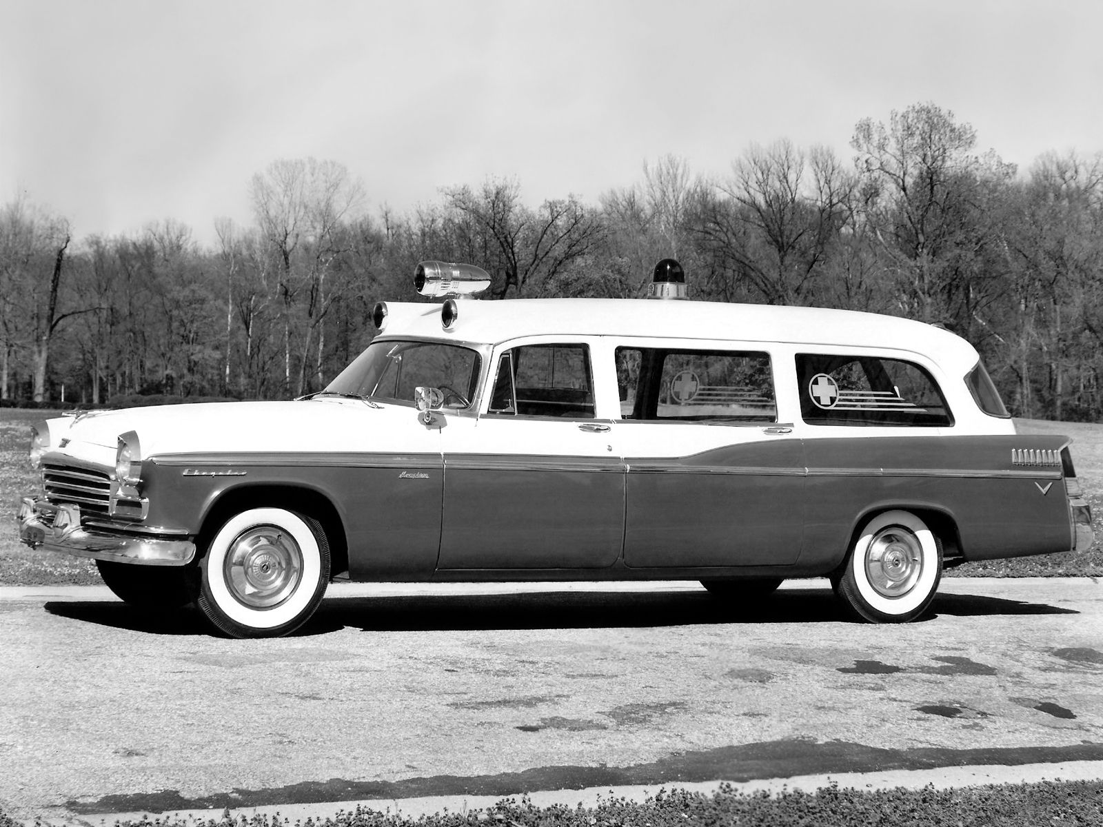 1956 Chrysler Ambulance by Memphis Coach | Funeral Coaches over time ...