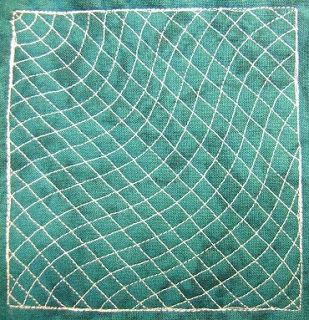 The Free Motion Quilting Project: Day 171 - Matrix Rays
