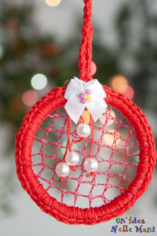 Lavoretti Fatti A Mano Di Natale.Lavoretti Di Natale Fai Da Te Tutorial Per Decorazioni Eco