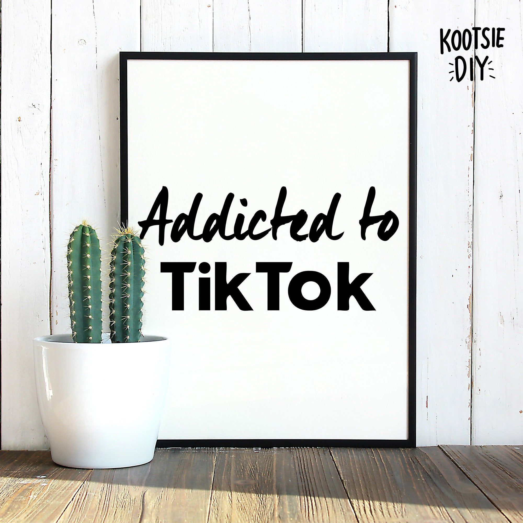 Tiktok Merch Svg Tiktok Svg Tiktok Png Tiktok Gift Etsy My Design New Shop Instagram