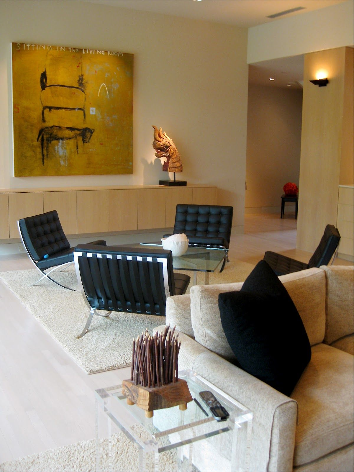 A Quartet Of Mies Van Der Rohe Barcelona Chairs Create A