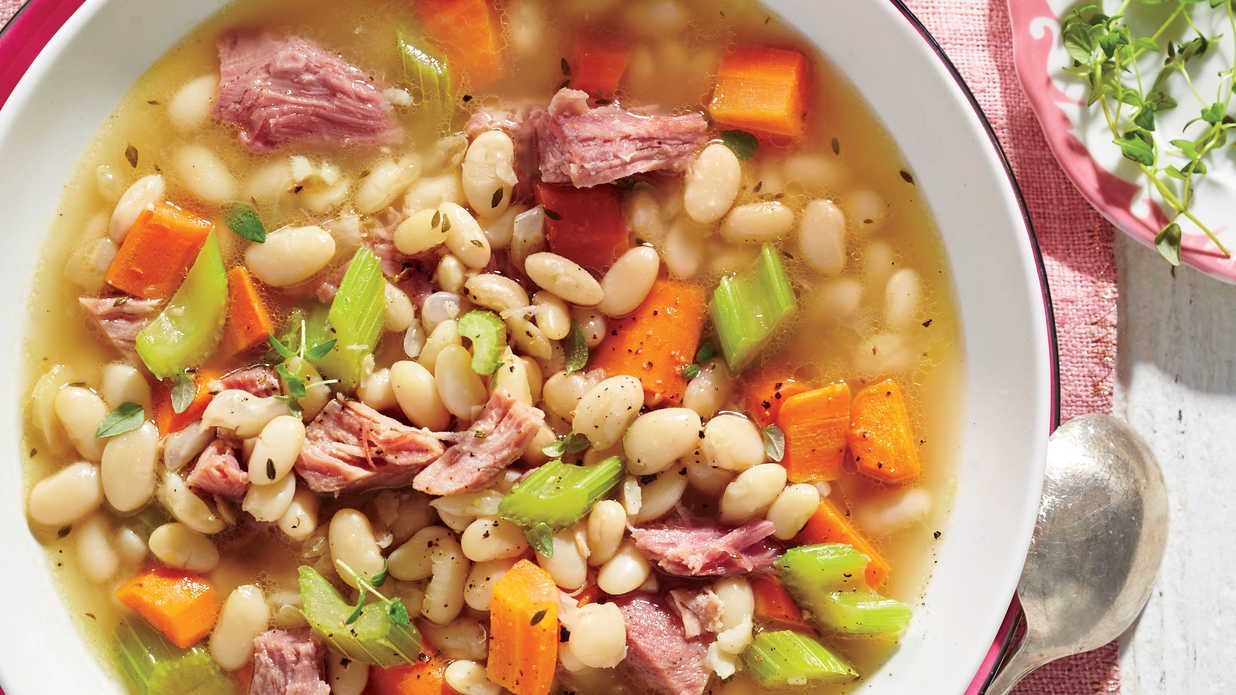 Ham And Bean Soup Recipe With Images Ham And Bean Soup Bean Soup Recipes Ham And Beans