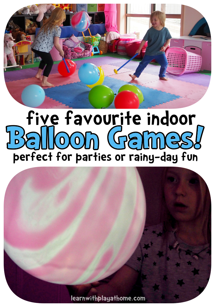 5 fun indoor balloon party games Balloon games, Indoor