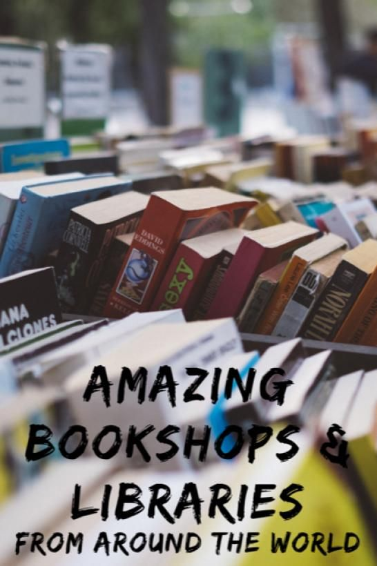 Amazing Bookshops and Libraries from Around the World #Travel #Bookshops #Books #Library  Ticker Eats the World #traveldestinations #world #travel #destinations