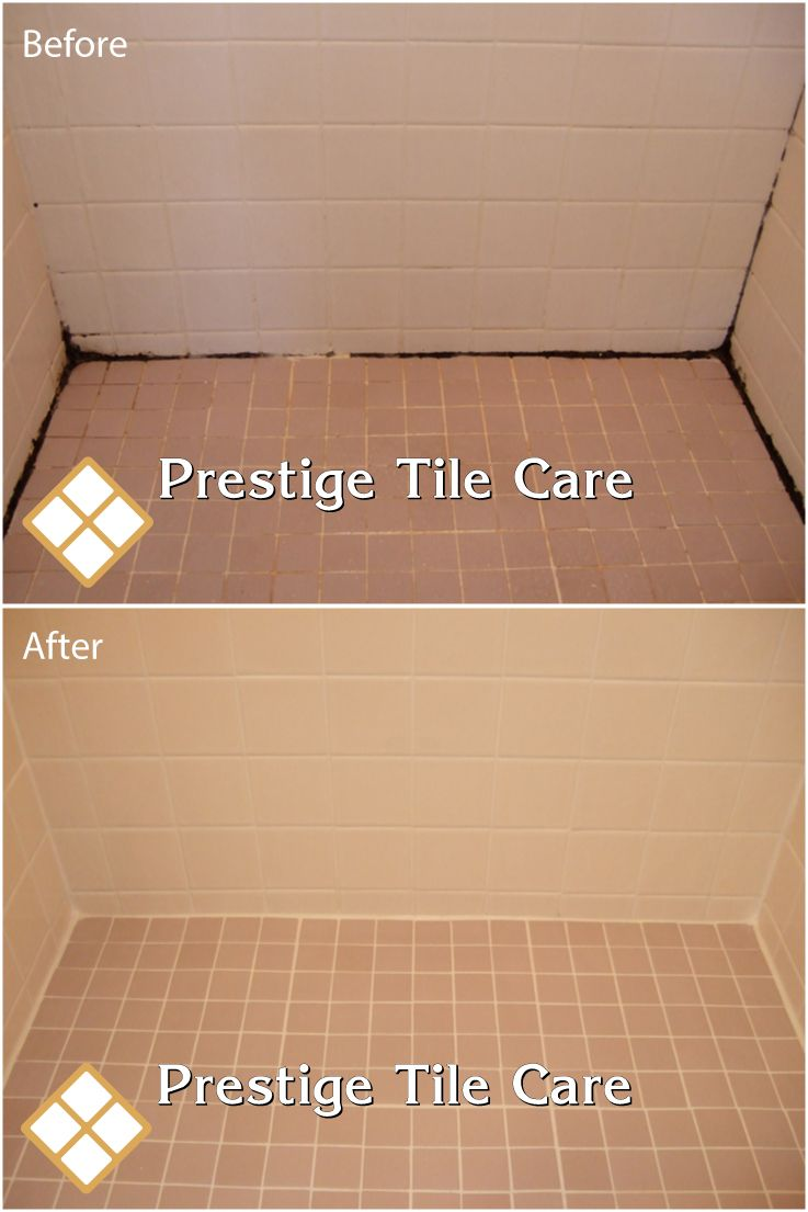 Cleaning Shower, Regrouting Shower Floor And Recaulking.