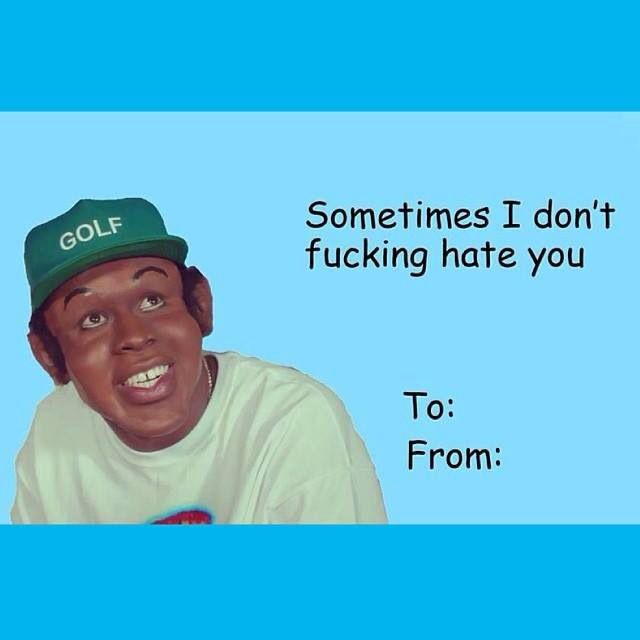 Lemon Organza Sleeve Top Valentines Memes Bad Valentines Cards Tyler The Creator