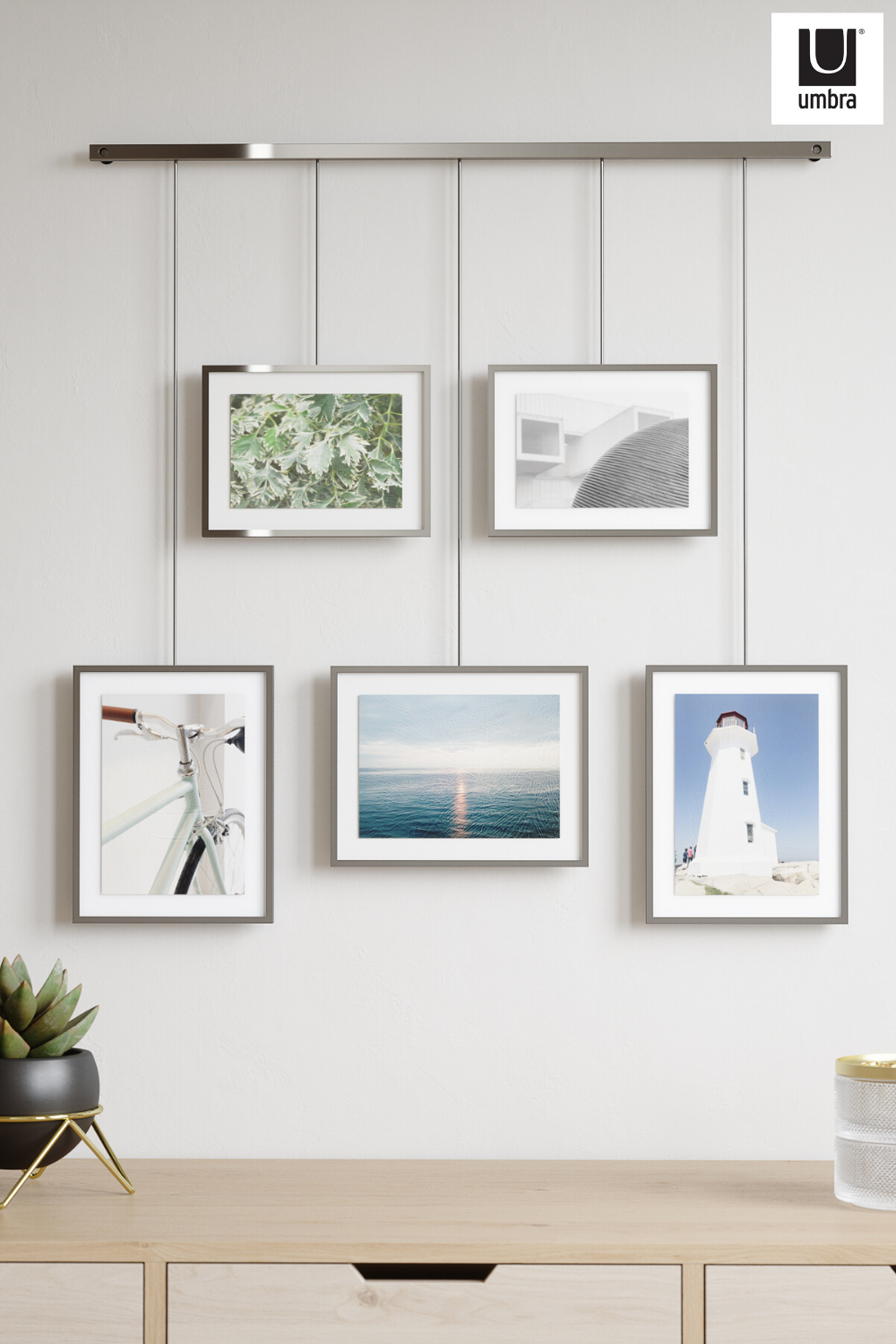 Exhibit Wall Picture Frames Set Of 5 In 2021 Gallery Wall Hanging System Gallery Wall Hanging Photo Wall Display