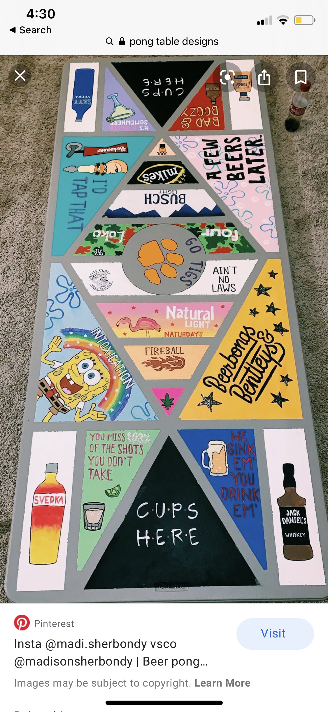 Pin by Kellyann Reidy on pong in 2020 Beer pong table
