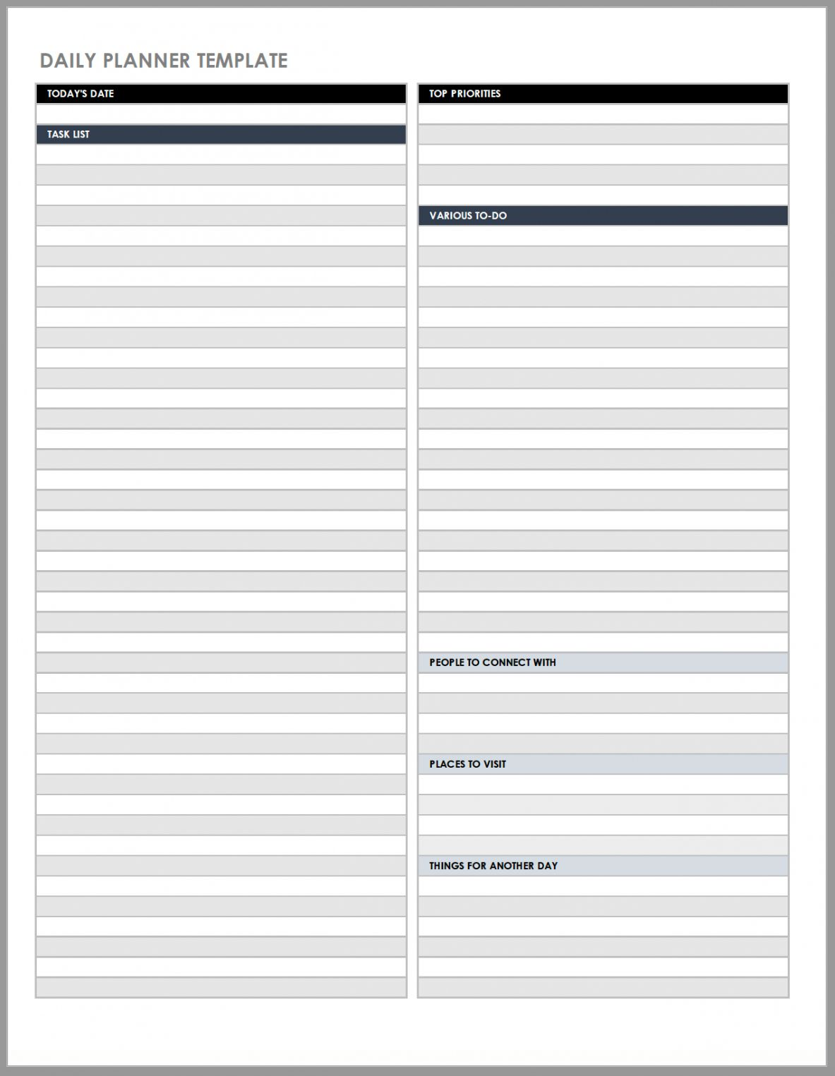 free daily work schedule templates smartsheet daily huddle