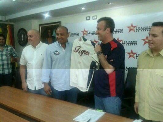 Equipo Tigres ahora es del pueblo aragüeño