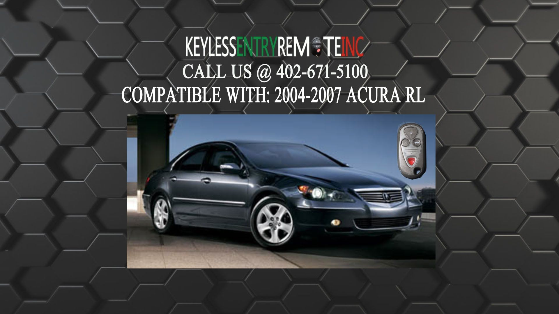 How to replace an acura rl key fob battery 2002 2004
