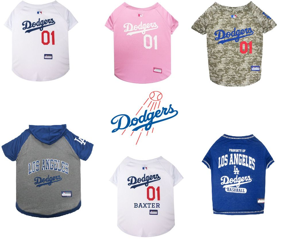 Los Angeles Dodgers Dog and Cat MLB Licensed Jersey f74081a3e9f