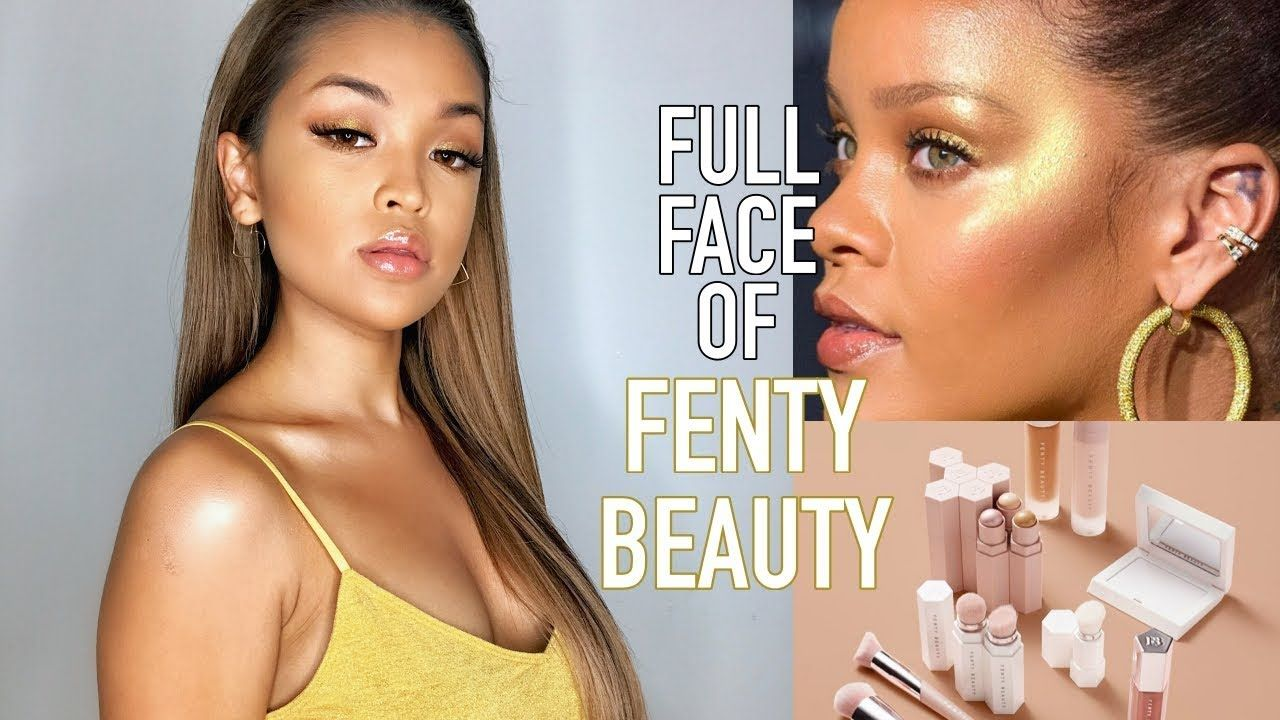 Full Face of FENTY BEAUTY Makeup Tutorial + My First