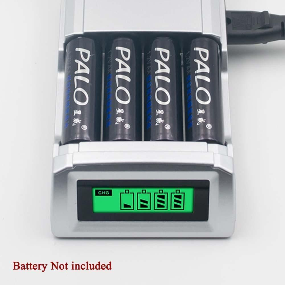 Universal Intelligent Lcd Battery Charger Alkaline Aaa Aa Ni Mh Nicad Battery Ga Ebay Battery Charger Aaa Battery Charger Rechargeable Batteries