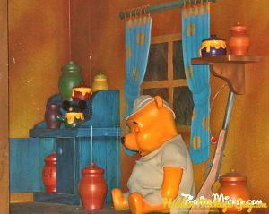 the many adventures of winnie the pooh mickey ears on. Black Bedroom Furniture Sets. Home Design Ideas