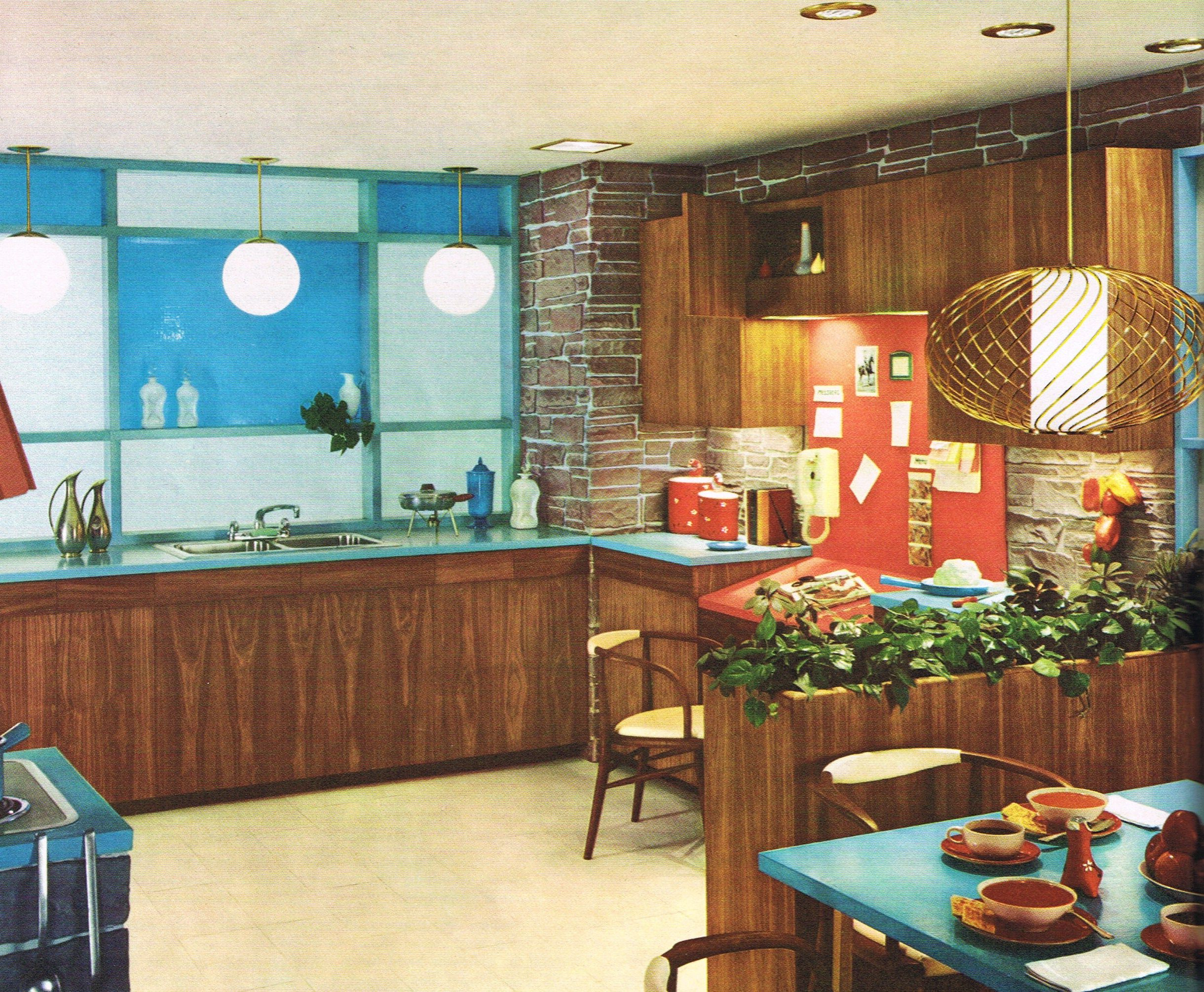 Best Mid Mod Kitchen Design Mid Century Modern Kitchen Mid 400 x 300