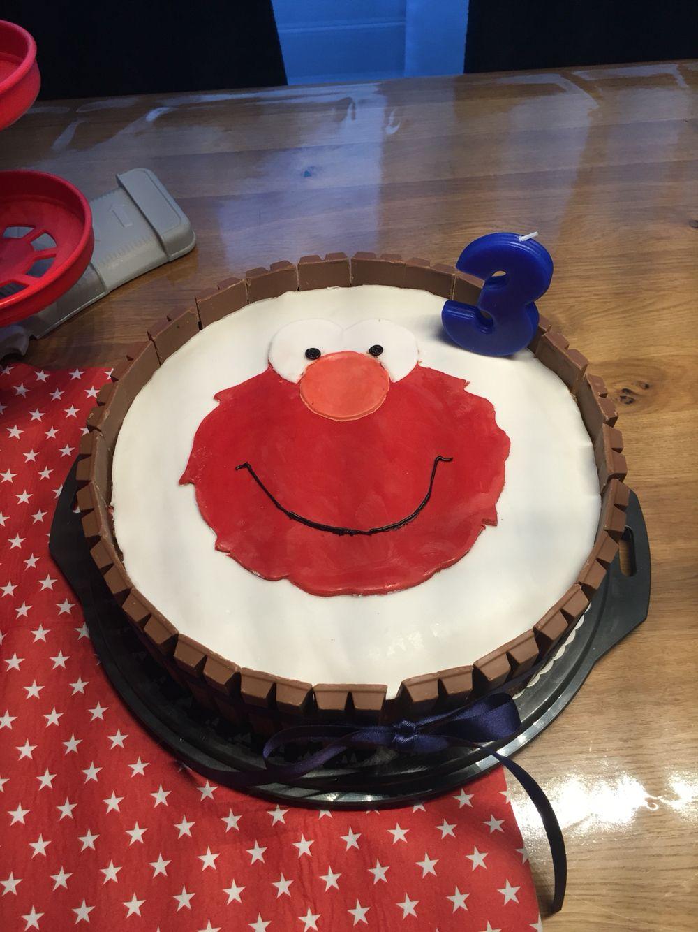 Elmo Geburtstagstorte