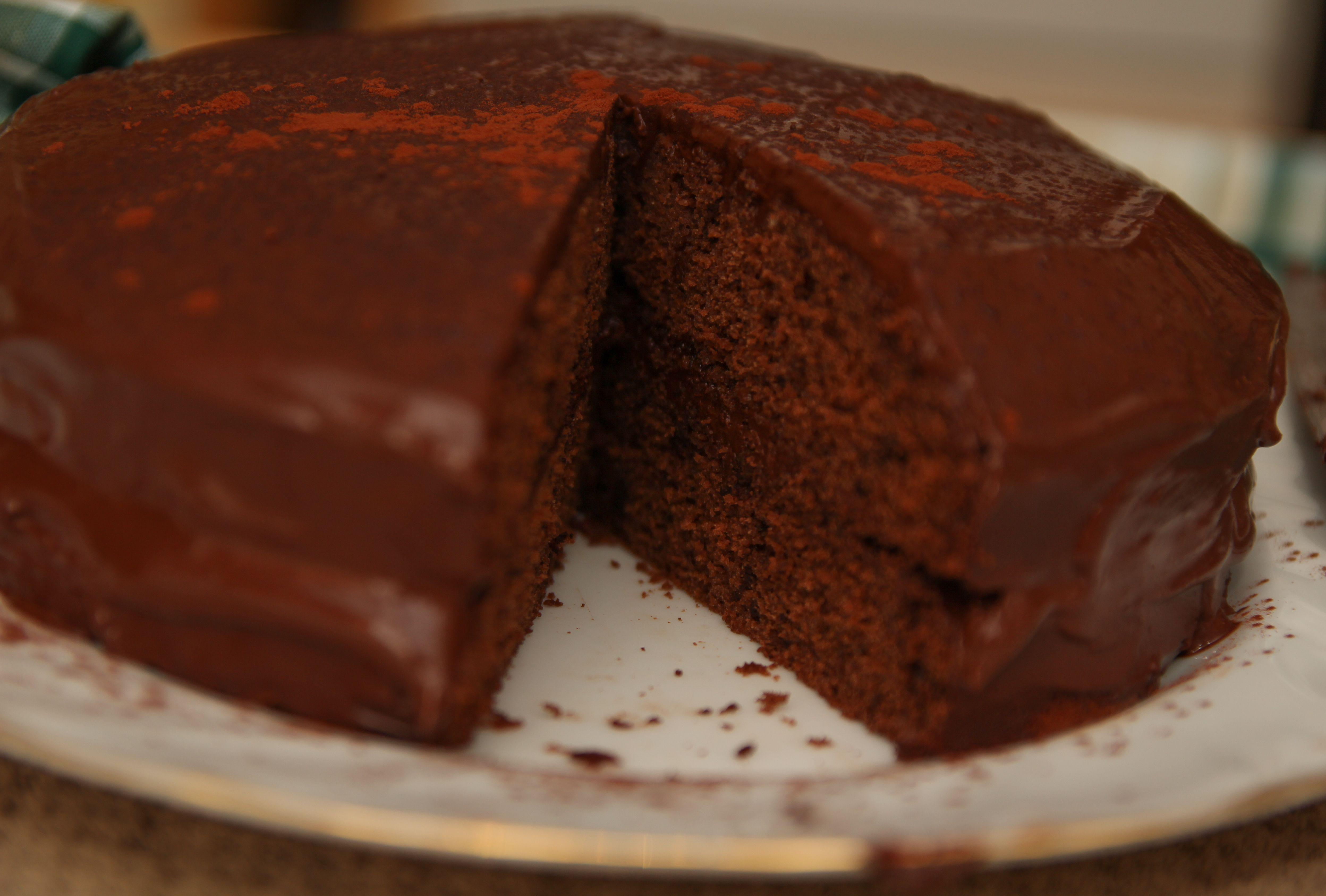 Healthy Chocolate Cake Recipe Healthy chocolate