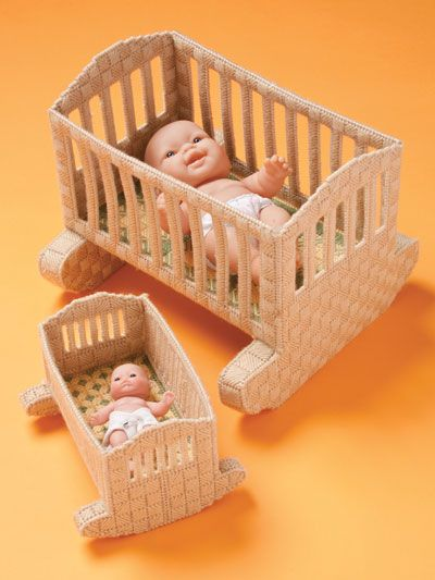 Annie S Furniture For 5 10 Inch Dolls Baby Doll Furniture Doll Furniture Patterns Plastic Canvas