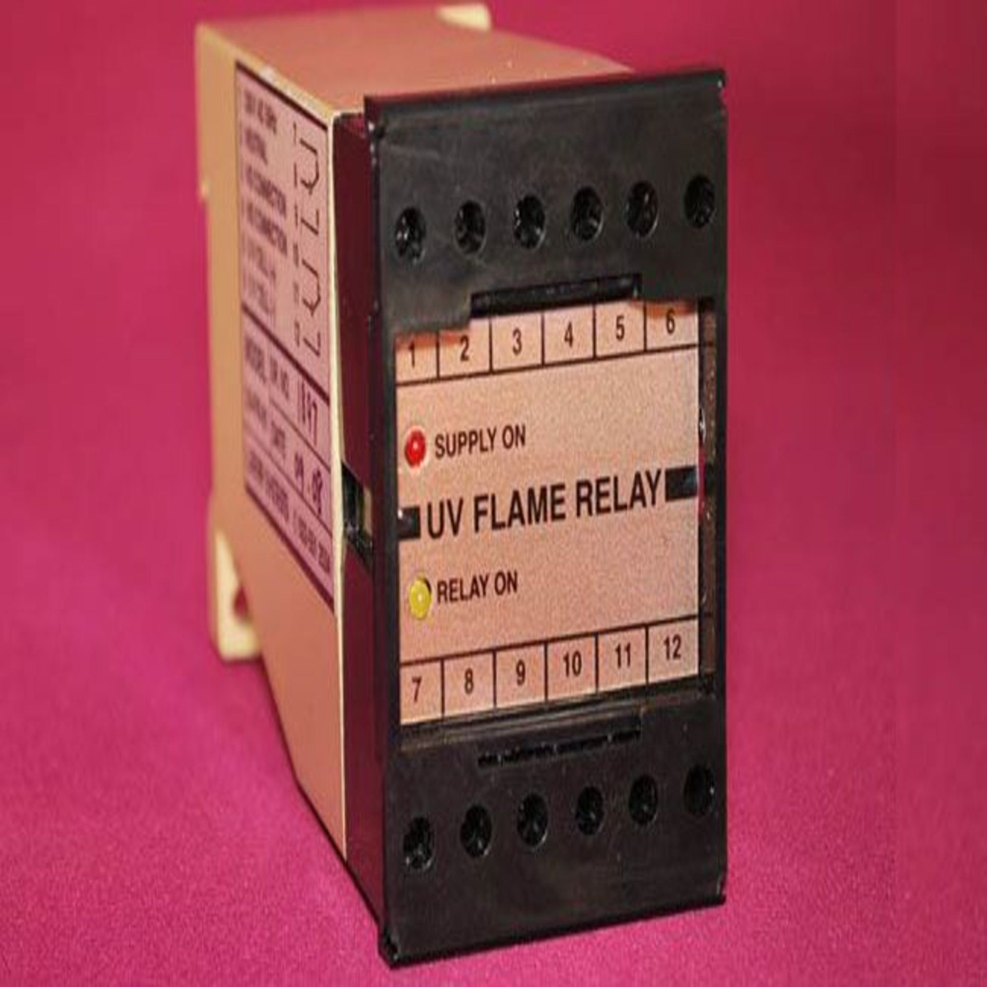UV flame sensor is used to detect the flame or fire inside the
