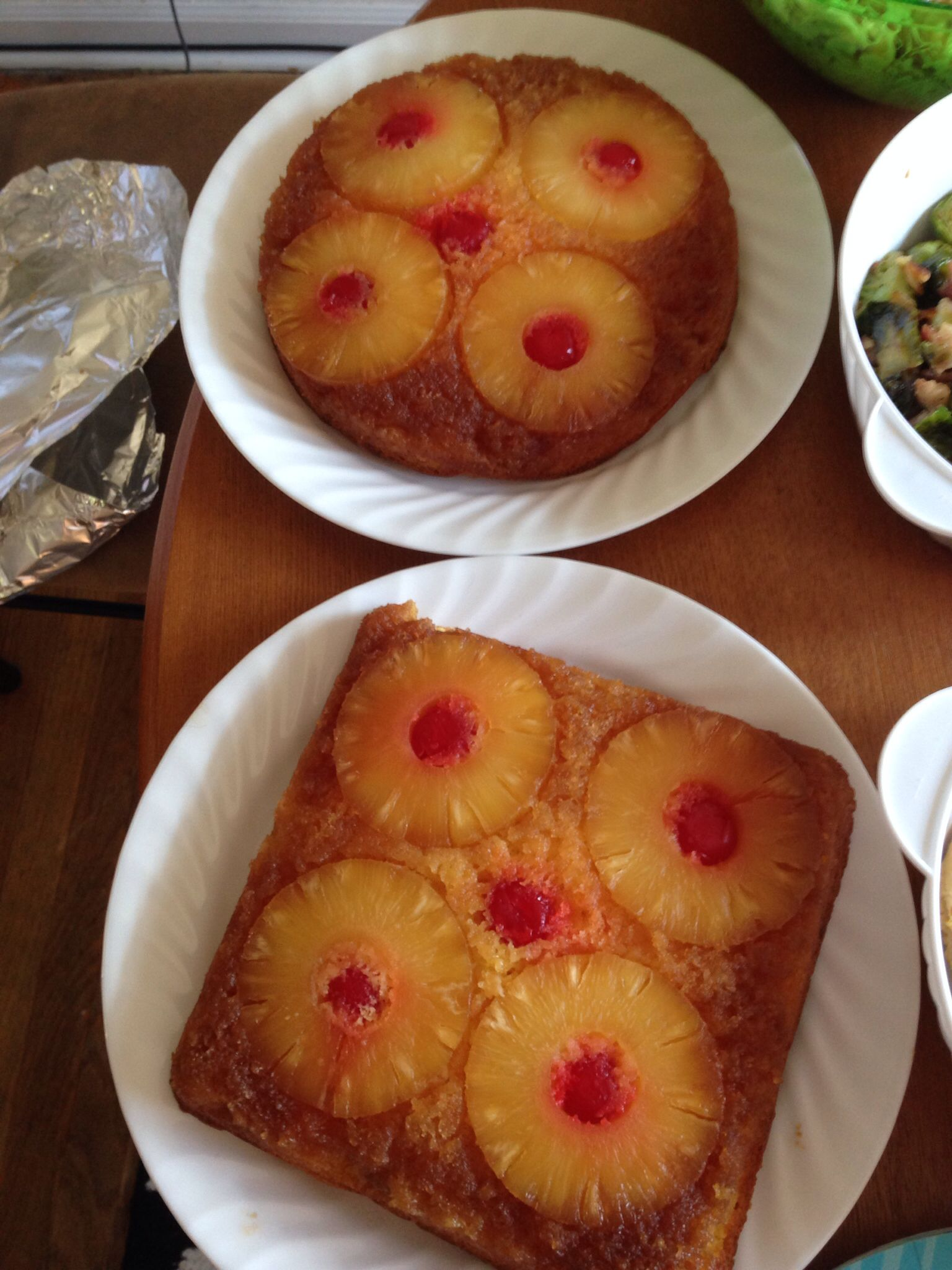 Easiest pineapple upside down cake ever make a box of